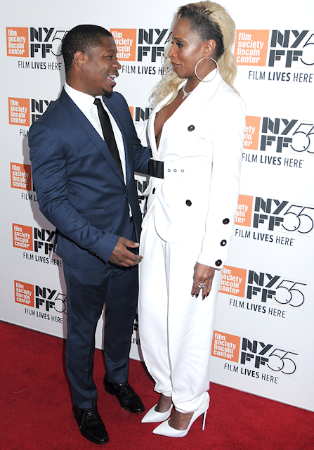 Mary J Blige steps out with her new man to a red carpet event (photos)