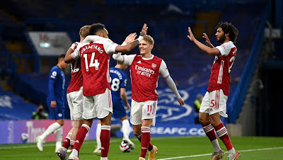 ملخص وهدف فوز ارسنال علي تشيلسي (1-0) الدوري الانجليزي