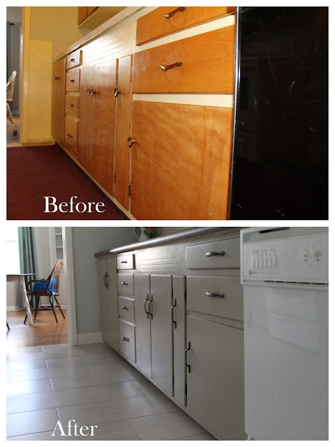 Happy Thoughts Kitchen Remodel Before And After