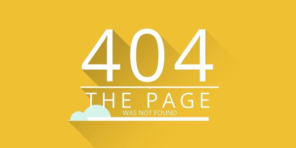Pure Css 404 Error Page Design