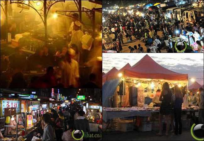 7 Pasar Malam yang paling Populer dan Terkenal di Dunia