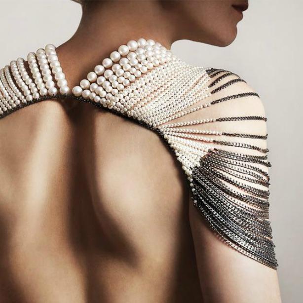 As pérolas modernas da designer Melaine Georgacopoulos