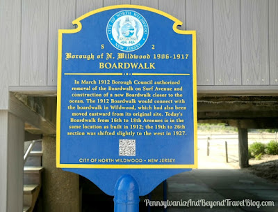 North Wildwood Boardwalk Historical Marker in New Jersey
