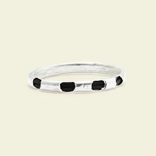 Nhẫn lông đuôi voi bạc