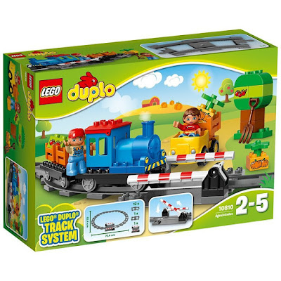 TOYS : JUGUETES - LEGO Duplo  10810 Tren | 2016   Piezas: 45 | Edad: 2-5 años  Comprar en Amazon España & buy Amazon USA