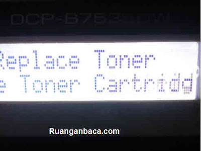 Cara Reset Replace Toner Brother DCP-B7535DW