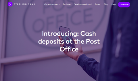 Starling Bank - Cash Deposit