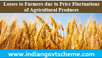 Losses to Farmers due to Price Fluctuations of Agricultural Produces