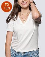 biały t-shirt damski dobrej jakości