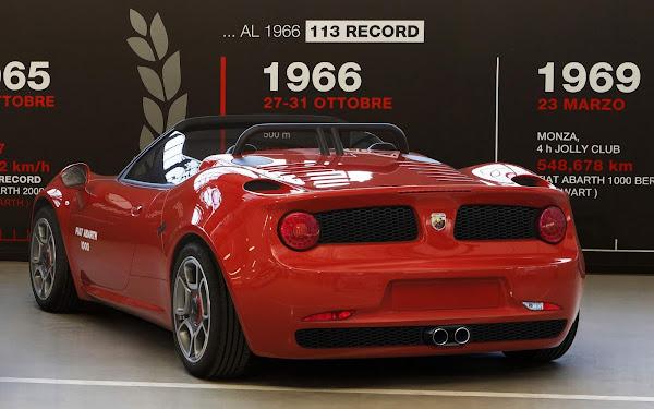 Fiat Abarth 100 SP: releitura contemporânea de esportivo dos anos 50