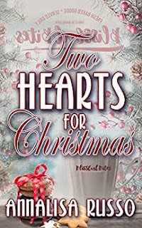 Two Hearts for Christmas - a sweet contemporary holiday romance book promotion by Annalisa Russo
