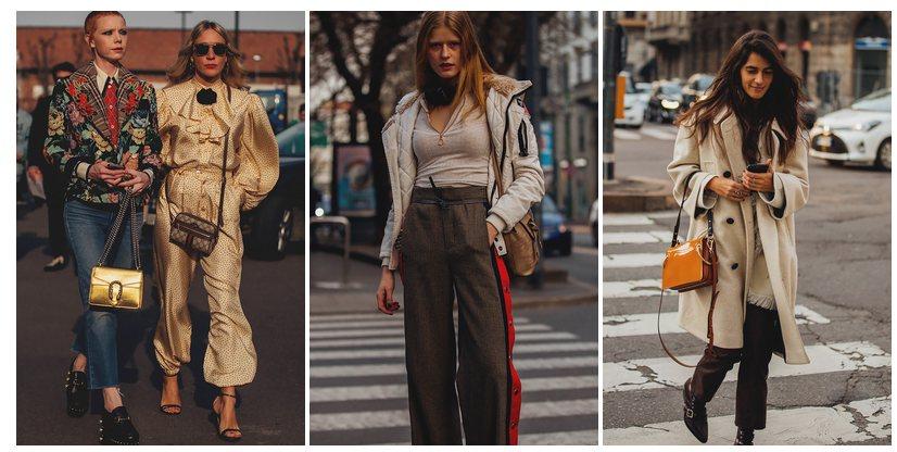 Milano mados savaitės gatvės stilius