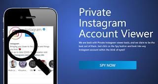 cara melihat instagram yang diprivate melalui situs instalooker.com