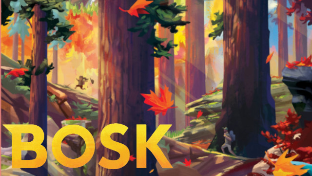 Bosk Board Game Review - Box Art