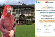 "Tim PSTI Universitas Mataram jadi ""The Best Campus"" Ajang Arubalympics 2020"
