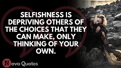 Selfish People Quotes Images