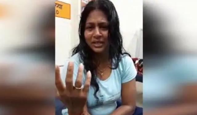 डीएम की पत्नी ने पहले पति पर लगाया पीटने का आरोप