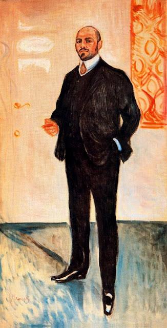 Эдвард Мунк - Вальтер Ратенау. 1907