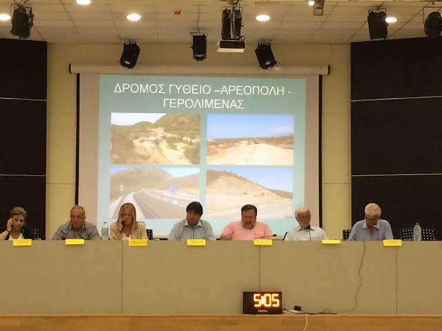 Τατούλης: Ανατρέπουμε τον αποκλεισμό της Λακωνίας