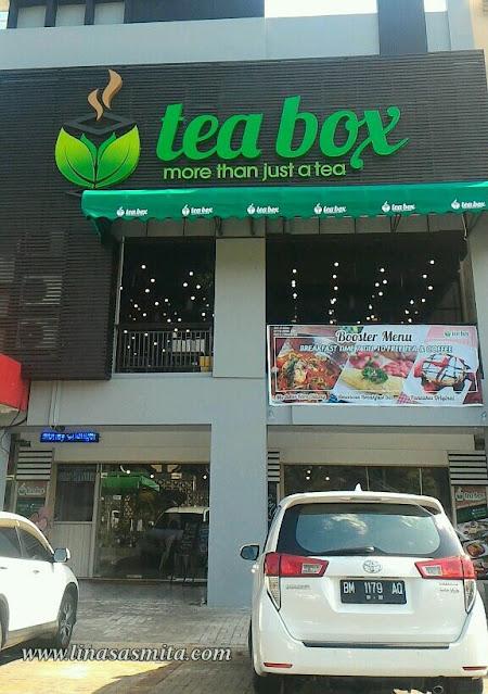 Tea Box Cafe Sukajadi Batam