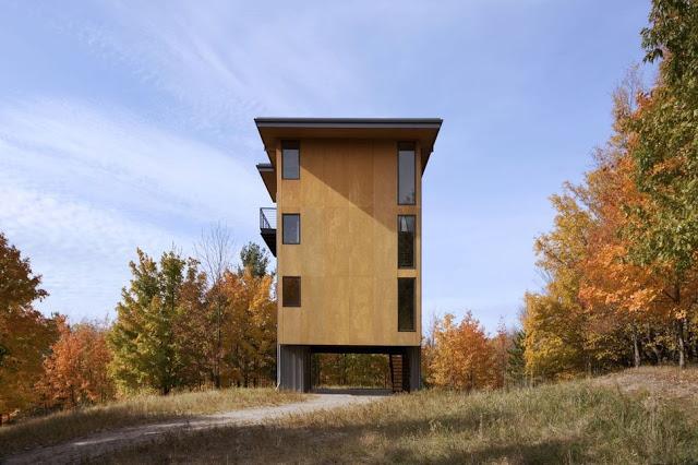 แบบบ้านผนังไม้เทียม