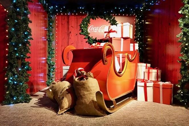 Casa de la Navidad de Cocacola