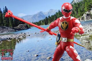 Power Rangers Lightning Collection Dino Thunder Red Ranger 23