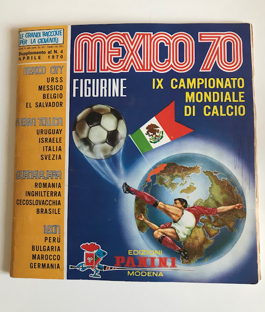 Album Figurine Messico '70