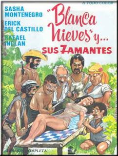 BlancaNieves y sus 7 amantes (1980) Comedia erotica con Sasha Montenegro