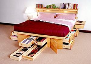 Camas con cajones que ahorran espacio drawer bed by - Camas cajones debajo ...