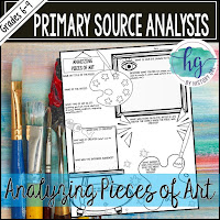 Thumbnail of Analyzing Pieces of Art as  a Primary Source by History Gal