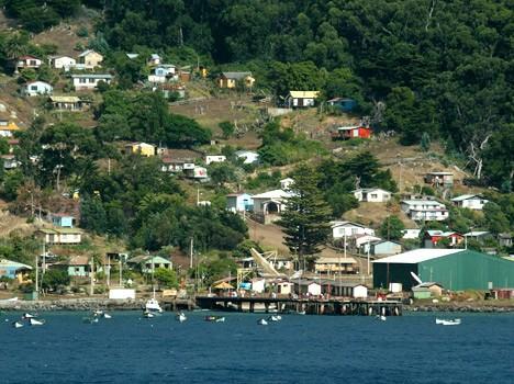 Ilha Robson Crusoe e Ilha Alejandro Selkirk das Ilhas Juan Fernández no Chile