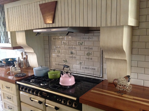 Metro tiles are ideal for a kitchen splashback for Metro tiles kitchen ideas