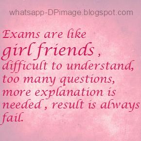Don't Disturb me Exams Whatsapp DP