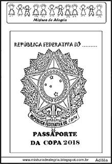 Passaporte atividades copa mundial 2018