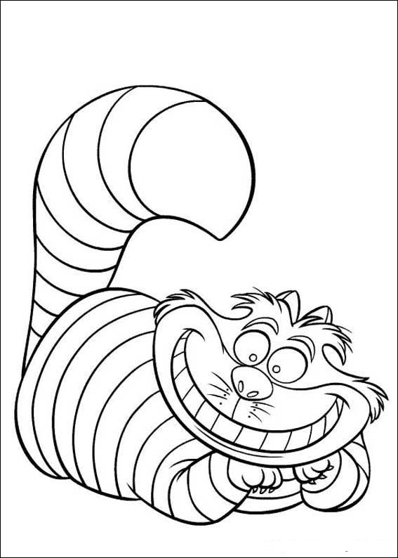 alice wonderland coloring pages - fun coloring pages alice in wonderland coloring pages