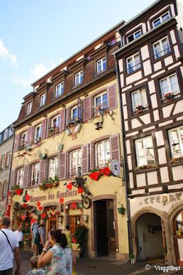 Il Quartier des Tanneurs uno dei più caratteristici di Colmar
