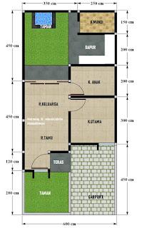 review rumah minimalis 6x13 milik hannibii - desain rumah