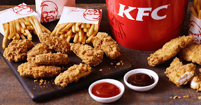 Kulit ayam KFC