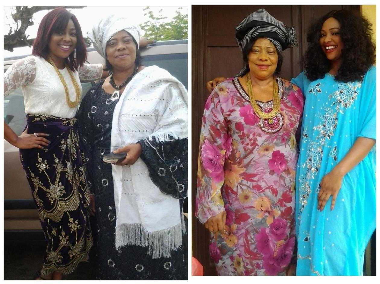 Nollywood Cctress, Mary Lazarus Loses Mum