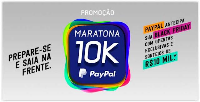 Promoção Maratona 10K PayPal