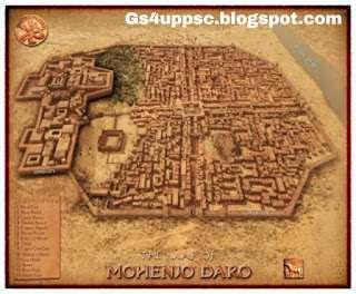 मोहनजोदड़ो का नगर image