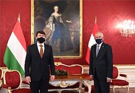 رئيسا النمسا والمجر يبحثان سبل احتواء وباء «كورونا»