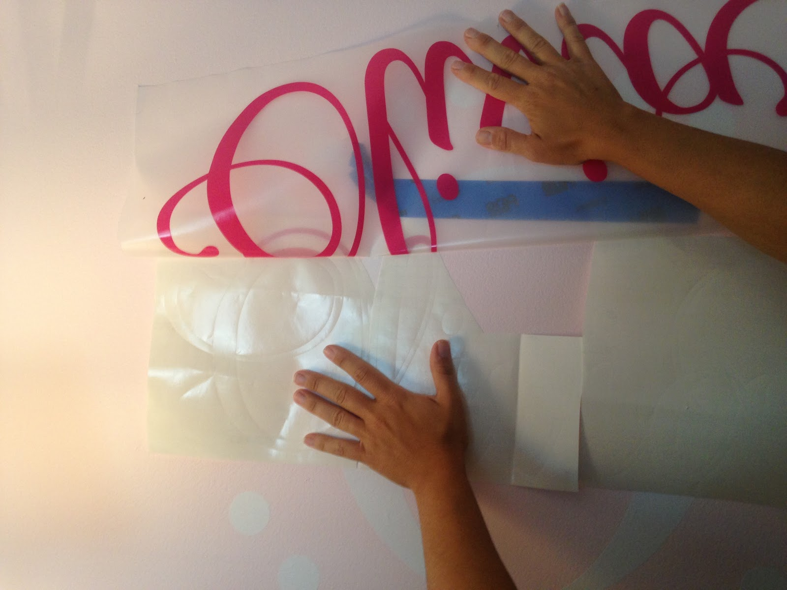 How To Hang A Large Vinyl Wall Decal Silhouette Tutorial Part - How to make vinyl decals by hand