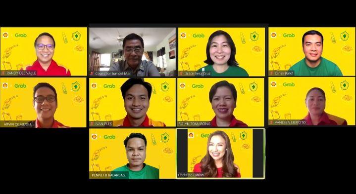 Pilipinas Shell, Grab PH partner