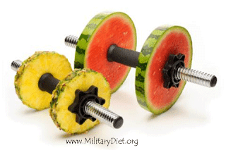 Exercise and Military Diet Benefits