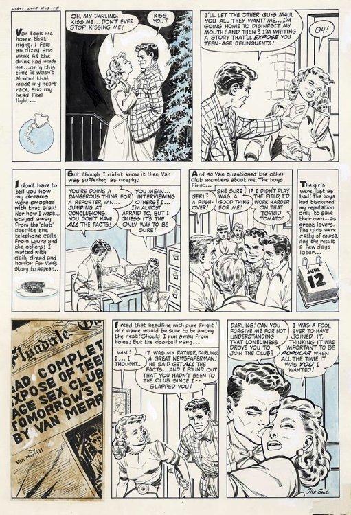 True Love Comics Tales First Love Illustrated -1573