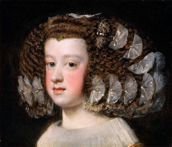 Диего Веласкес - Портрет Марии Терезы, принцессы Испании (1651-1654)
