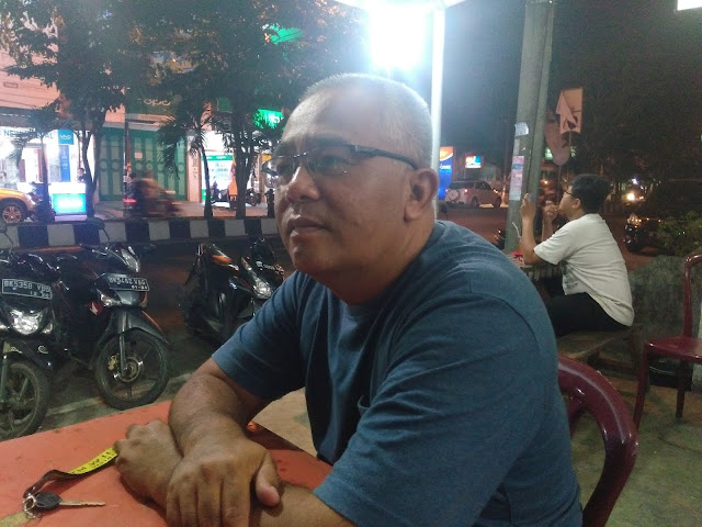 Zainal Ardi pengamat dan pecinta sepakbola di Asahan.