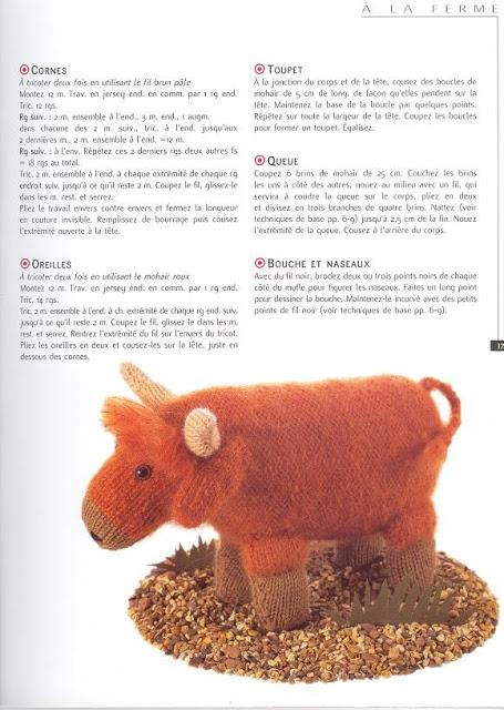 modèle gratuits amigurumi au tricot